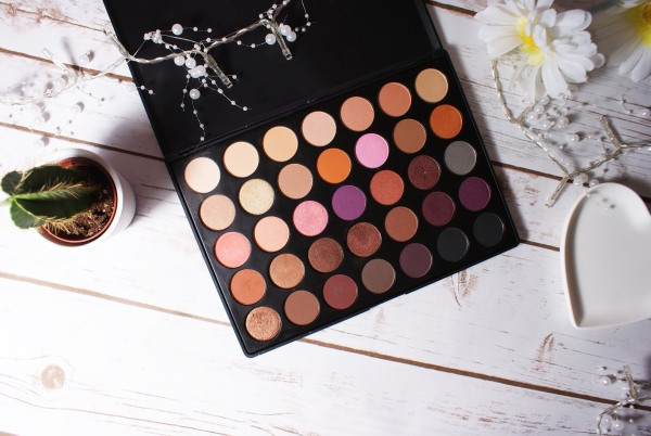 morphe brushes 35w palette makeup