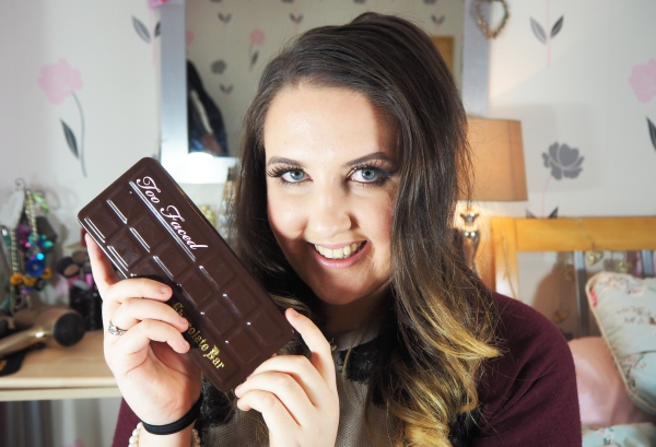 Too Faced Chocolate Bar Palette (Full Face) GRWM