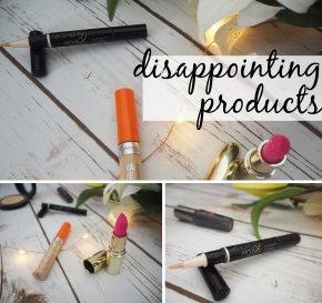 Disappointing Products | Clarina